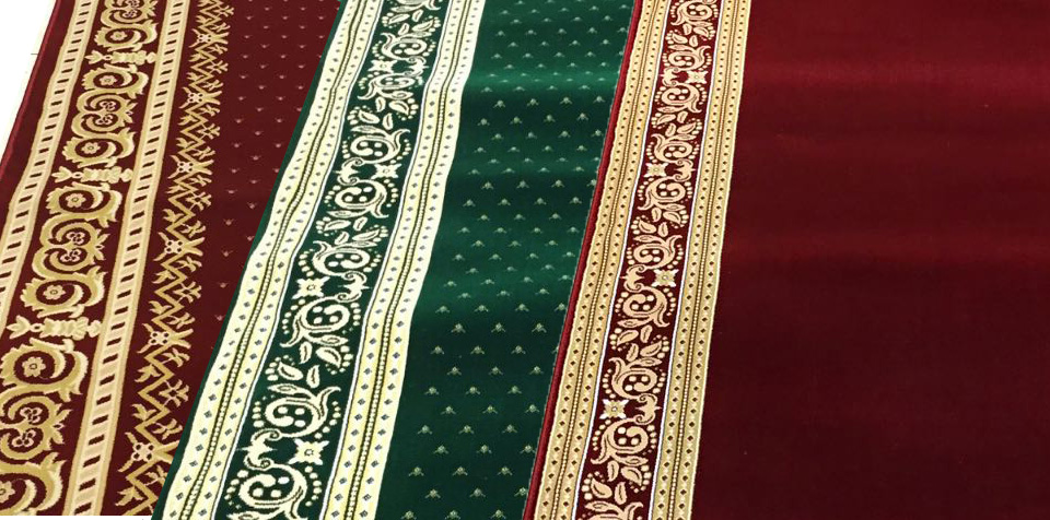 Karpet Masjid Turki, Tipe Grand Premium,Sejarah singkat sajadah