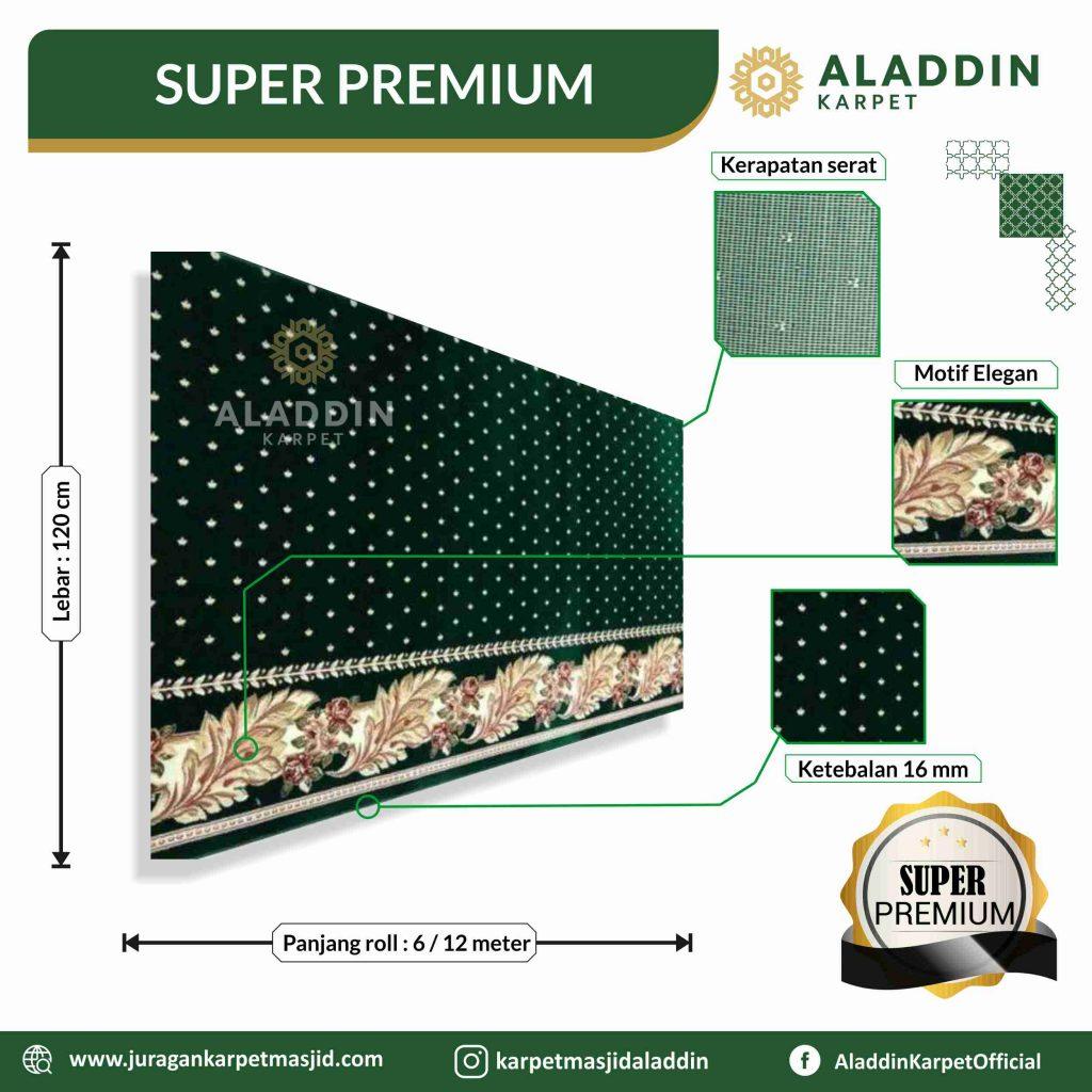 karpet masjid tipe super premium,tipe-tipe karpet masjid