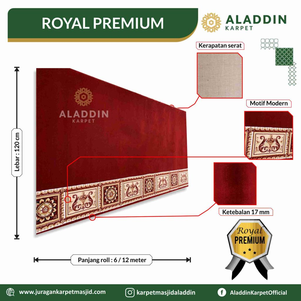 karpet masjd royal premium, Jual Karpet Masjid Di Jogja