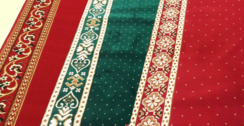 Karpet masjid tipe minimalis plus, karpet masjid purwokerto