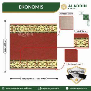karpet masjid tipe ekonomis, jual karpet masjid lokal