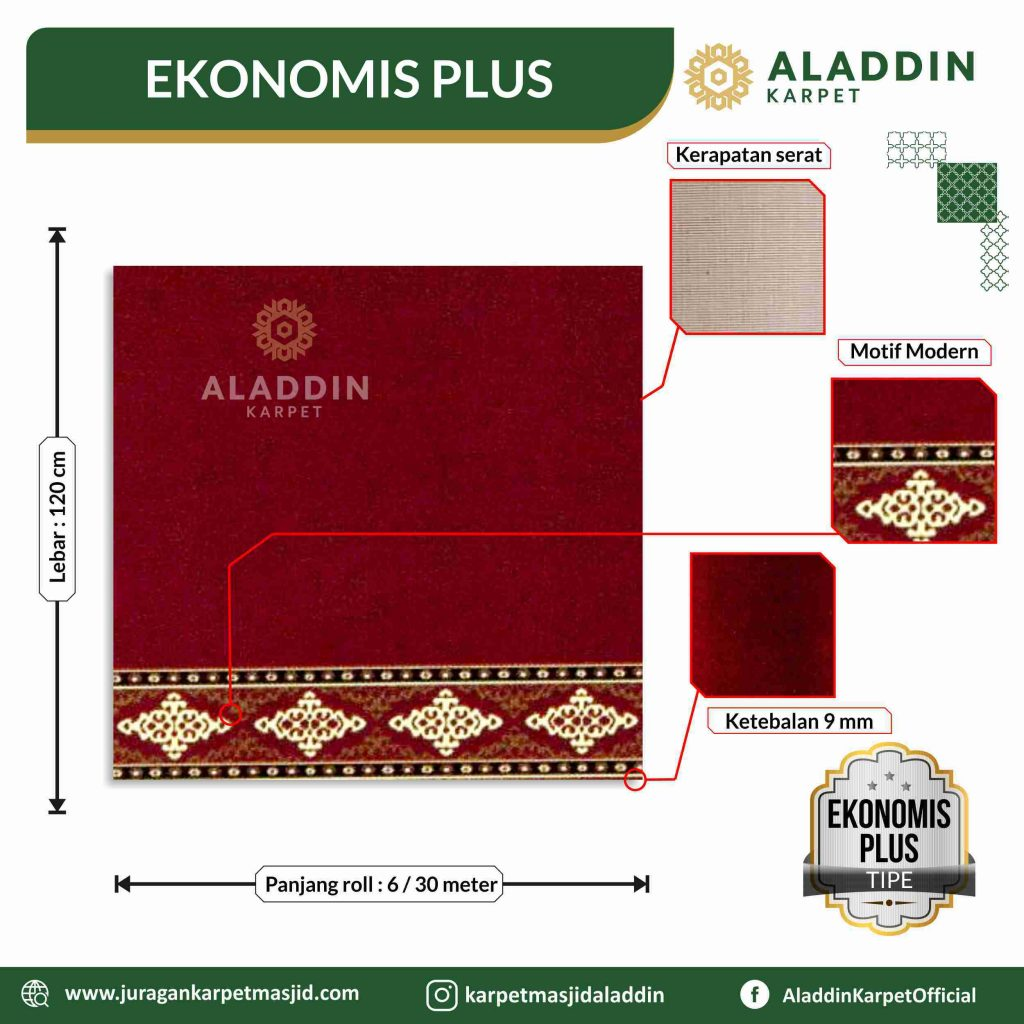 karpet masjid ekonomis plus di gunungkidul