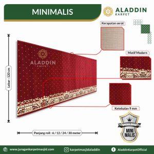 karpet masjid tipe minimalis,  jual karpet masjid lokal