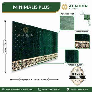 karpet masjid tipe minimalis plus