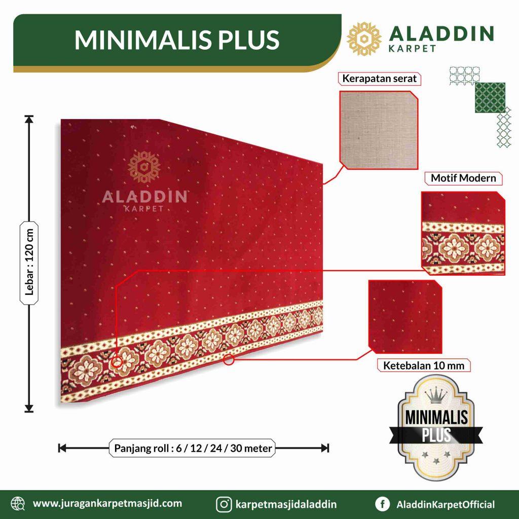 harga karpet masjid tipe minimalis plus