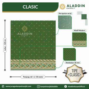 karpet masjid tipe clasic