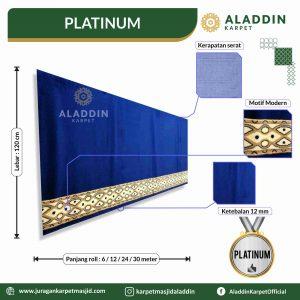 karpet masjid tipe platinum