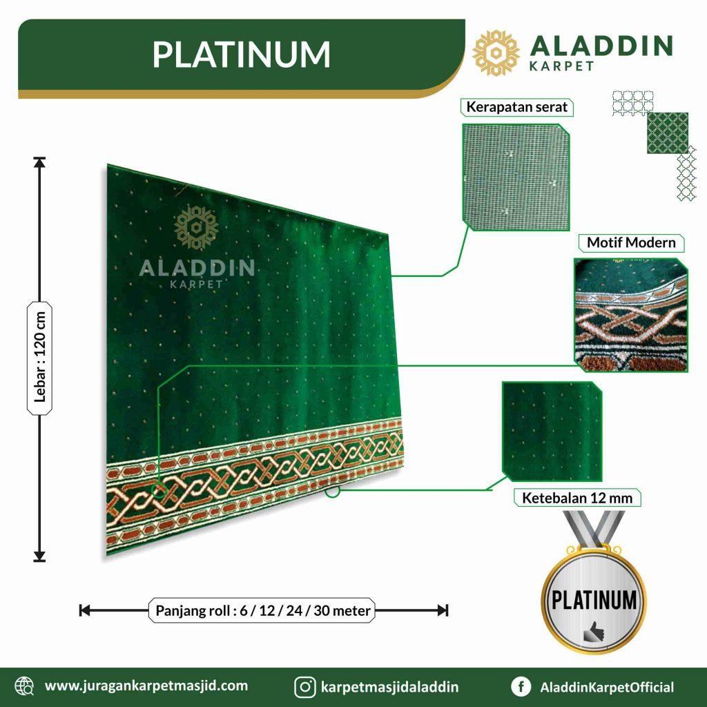 harga karpet masjid tipe platinum