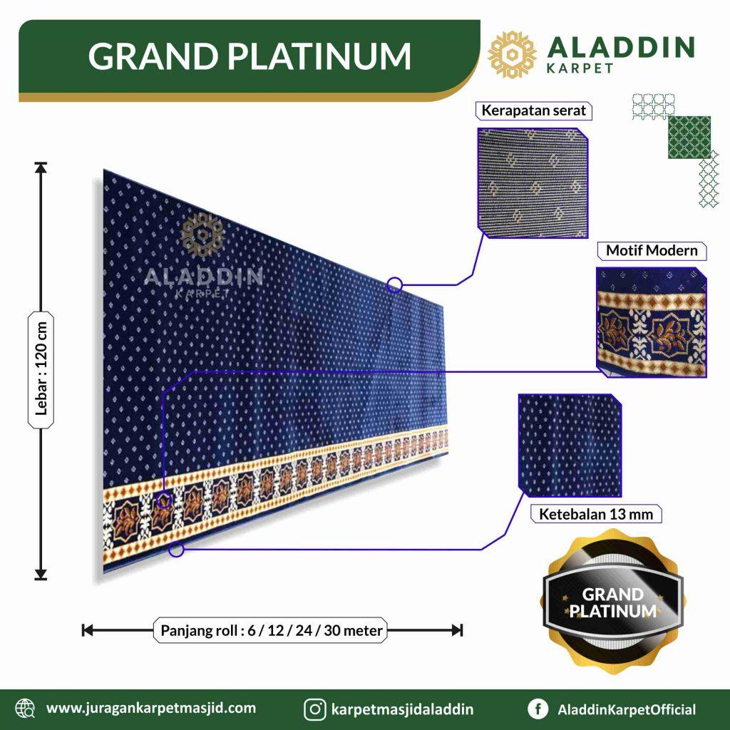 karpet masjid grand platinum di gunungkidul