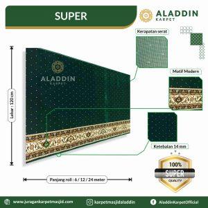 karpet masjid tipe super, jual karpet masjid lokal