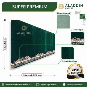 karpet masjid tipe super premium, jual karpet masjid lokal