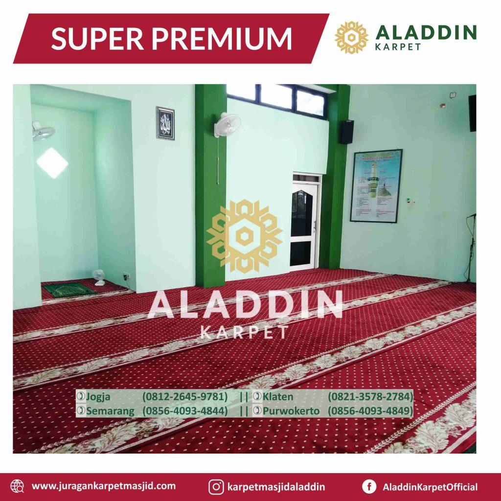 karpet masjid yang harum dan bersih