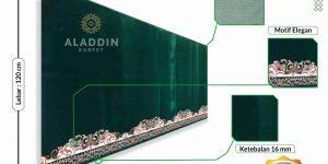 jual karpet masjid hijau di malang