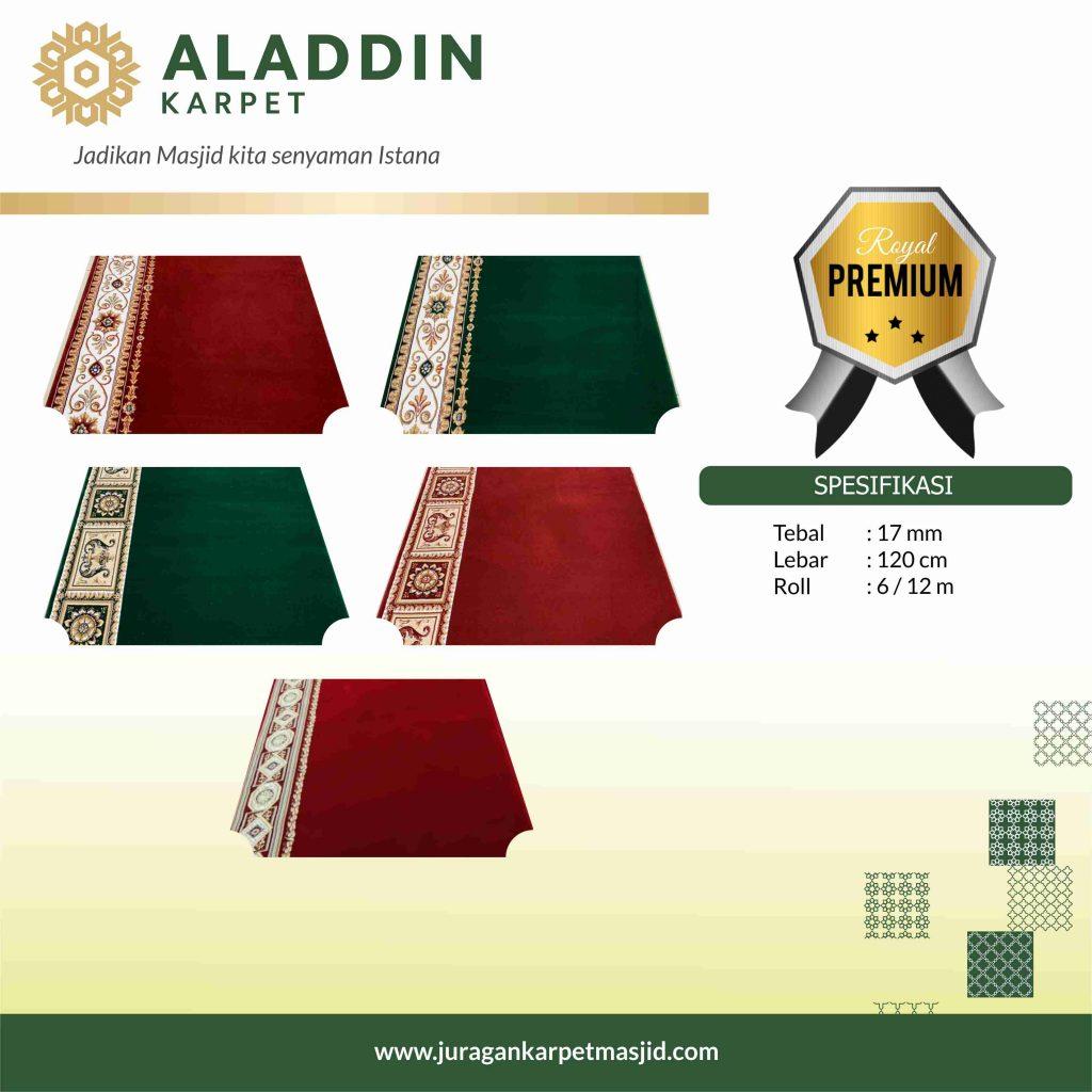 karpet masjid royal premium